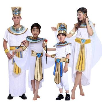 2016 Halloween costume cosplay clothes Egyptian pharaoh Cleopatra ancient Greek princess costume masquerade costumes