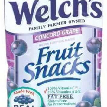 Fruit Snack Grape - 2.25 oz. Case Pack 24
