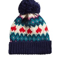 Paul's Boutique Heart Fairisle Beanie