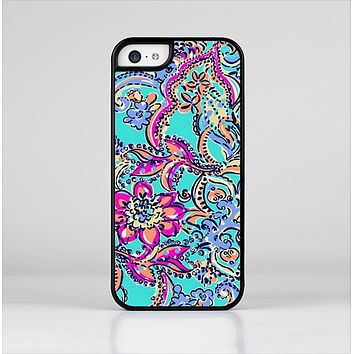 The Bright WaterColor Floral Skin-Sert Case for the Apple iPhone 5c