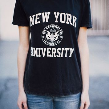 Nikola NY University Top - Brandy Melville