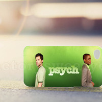 Psych Shawn and Gus Design - for iPhone 4/4s, iPhone 5/5s/5c, Samsung S3 i9300, Samsung S4 i9500 *factorysweatyes*