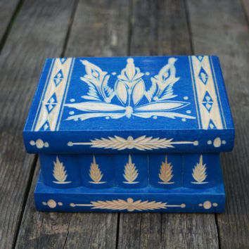 Jewelry box DeluxEdition Hungarian secret box puzzle box brain teaser treasure box treasure chest accessories keepsake box personalized gift