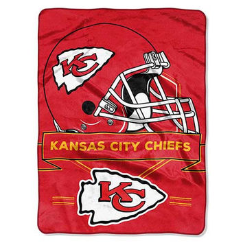 Kansas City Chiefs Prestige 60x80 NFL Blanket - Free Shipping in the Continental US!
