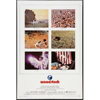 Woodstock Poster 24in x 36in
