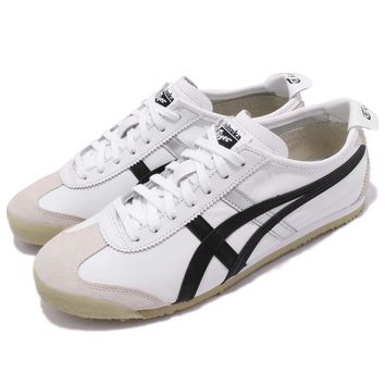 Asics Onitsuka Tiger Mexico 66 OT White Black Men Running Sneakers DL408-0190