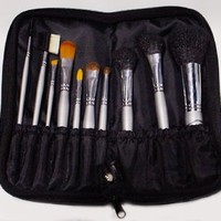 Make up Brush Kit for All Types of Makeup Application for Home Use and Professional Quality, Great