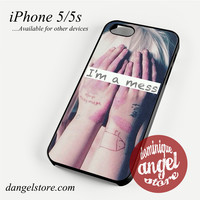 Sia I'm a Mess Phone case for iPhone 4/4s/5/5c/5s/6/6 plus