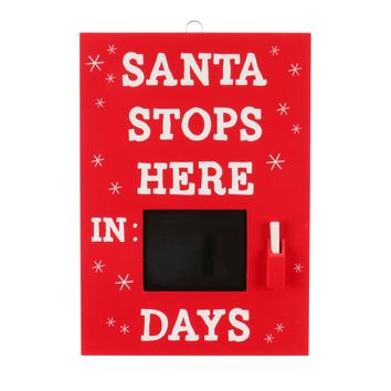 Santa Stops Here Hanging Sign - Wondershop™