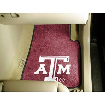 Texas A&M Aggies NCAA Car Floor Mats (2 Front)