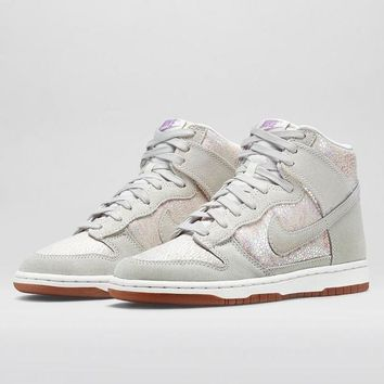 Nike Dunk Sky Hi Essential Inside Heighten woman Leisure High Help Board Shoes0