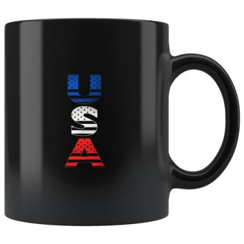 United States Of America Flag Souvenir Mug