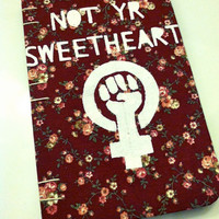 Not Yr Sweetheart | Medium-Sized Blank Journal With Lined Paper