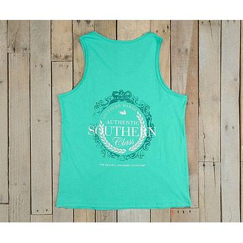 Southern Class Tank in Jockey Green by Southern Marsh - FINAL SALE