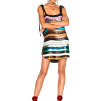 ATTICO Sabrina Sequin Dress in Multi | FWRD