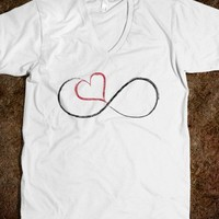 Infinity Heart - Movie Quote Shirts