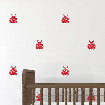 Ladybug Repeatable Pattern