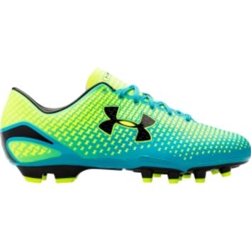 Under Armour Men's Speed Force FG Soccer Cleats - Blue/Volt | DICK'S Sporting Goods