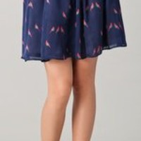 Marc by Marc Jacobs Finch Charm Print Skirt | SHOPBOP