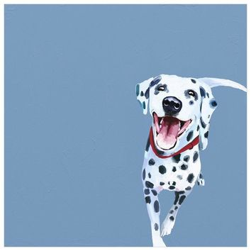Best Friend - Dalmatian Wall Art