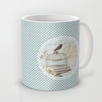 Free Bird Mug by Ally Coxon
