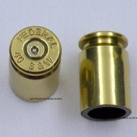 Set of 4 Bullet Valve Tire Caps for Car - BRASS / GOLD