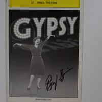 Gypsy Signed Playbill