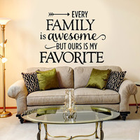 Every Family is Awesome...
