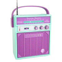 Retro Sounds in Turquoise