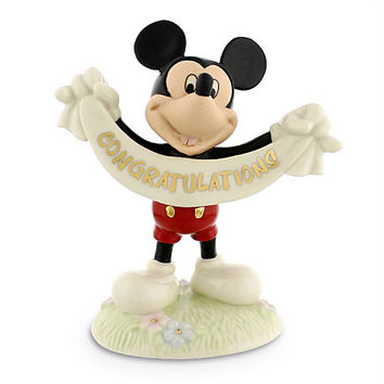 Mickey Mouse ''Congratulations'' Figurine by Lenox