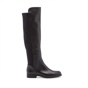 Sole Society Raine Leather/Stretch Tall Boot