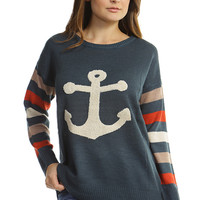 Anchor Down Sweater (Pre-Order 12/7)