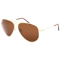 Electric Av1 Xl Sunglasses Gold/Melanin Bronze One Size For Men 25793962101