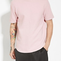Curved-Hem Quilted Tee