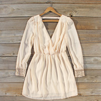 Moonstone Dress in Cream