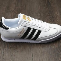 Adidas Beckenbauer Allround Leather Sport Shoes Sneakers