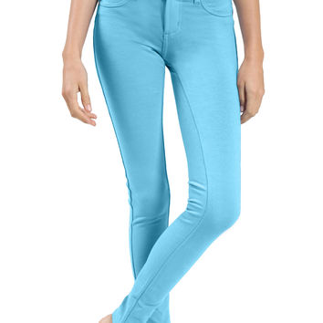 Soft Skinny Ponte Jegging Pants