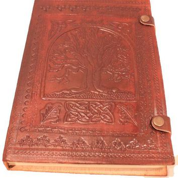 Large Camel Leather Journals