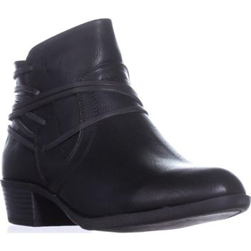 madden girl Become Casual Ankle Boots, Black Paris, 7.5 US