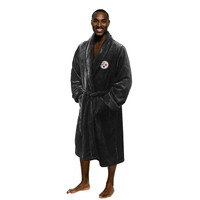 Pittsburgh Steelers NFL Men's Silk Touch Bath Robe (S-M)