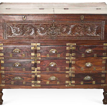 Antique Rosewood  Apothecary Cabinet
