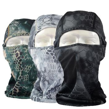 New Typhon Camouflage Balaclava Paintball Tactical Airsoft Combat Military Army Hats Cap Helmet Liner Full Face Mask