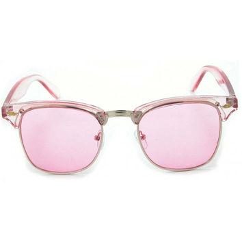 Pink Vintage Deadstock Clubmaster Sunglasses