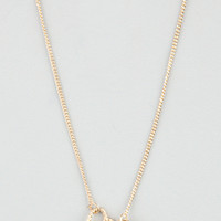 FULL TILT Interlocked Hearts Necklace 206239621 | Necklaces
