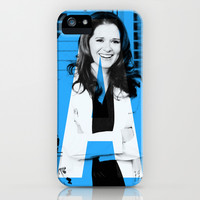 Greys Anatomy: A is for April iPhone & iPod Case by drmedusagrey