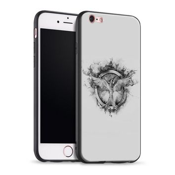 Hunger games mockingjay logo For Apple iPhone 5 5s Se 6 6s 7 8 Plus X XR XS MAX Tpu Soft Silicone Phone Case Cover
