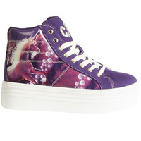 Purple Unicorn Platform Sneaker- By YRU
