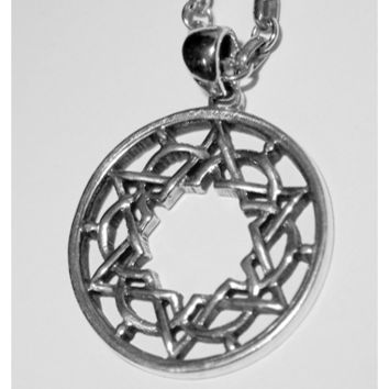 Kabbalah Star Of David Necklace By Michael Bromberg, Jewelry