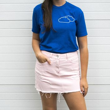 Head in the Clouds Back Print Tee