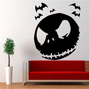 Jack Skellington - Halloween Nightmare Before Christmas Decal Sticker for Window Wall Room Truck Car